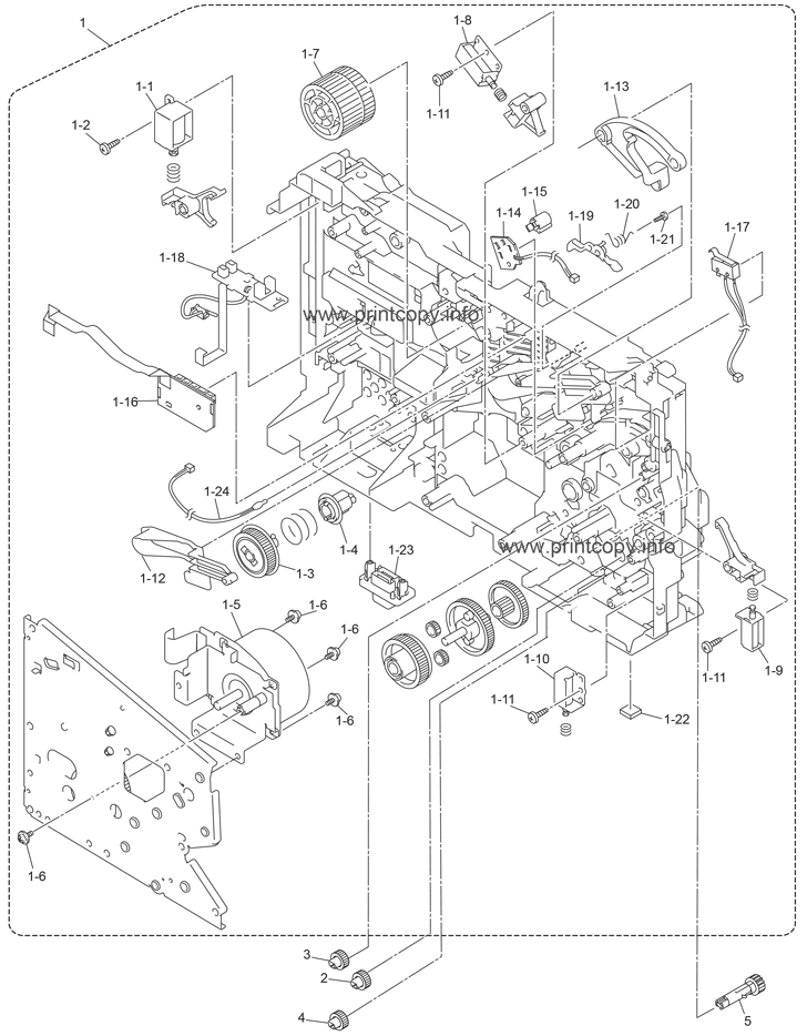 Parts Catalog Brother Mfc8380dn Page 1