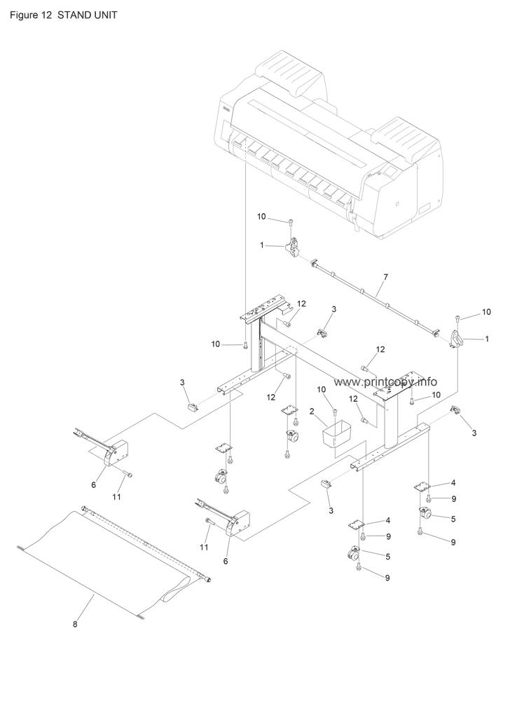 Parts Catalog > Canon > imagePROGRAF PRO 4000 > page 12
