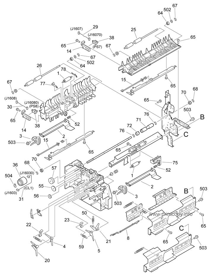 parts catalog  u0026gt  canon  u0026gt  ir3300  u0026gt  page 21
