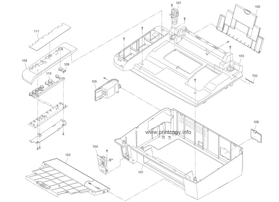 epson sx205 manual on