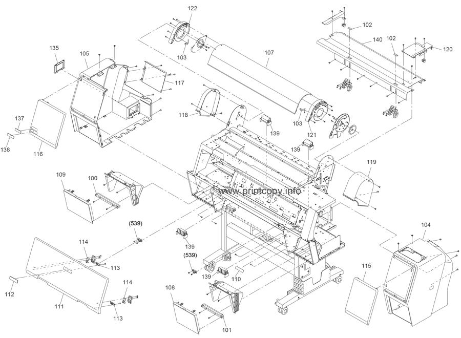 Parts Catalog > Epson > Stylus Pro 9900 > page 2