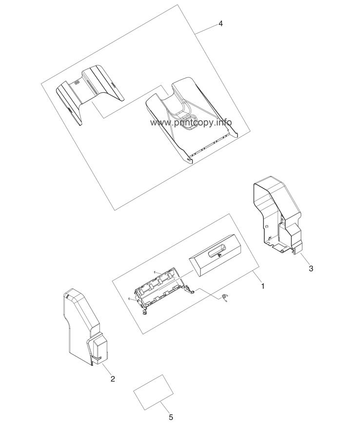 Parts Catalog Hp Color Laserjet Cm4730 Mfp Page 53
