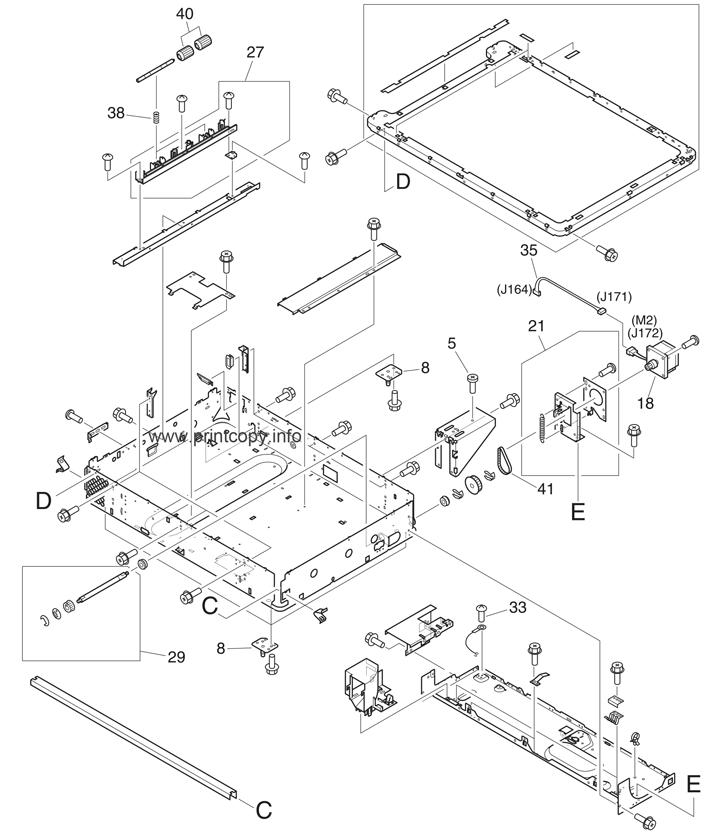 Parts Catalog Hp Laserjet M9040 Mfp Page 6