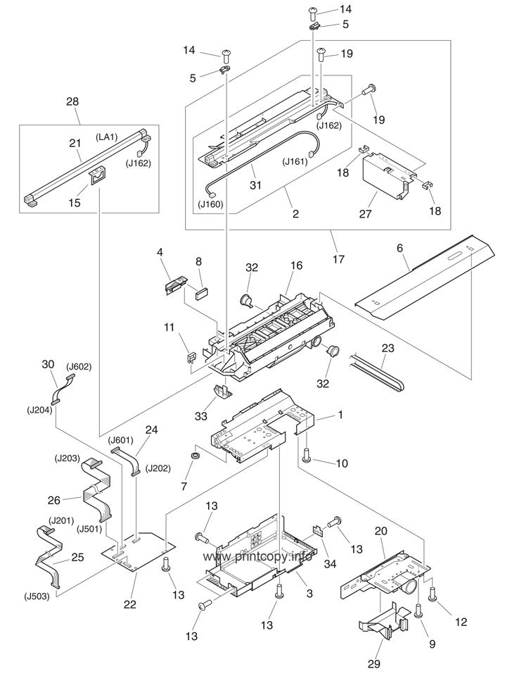 Parts Catalog Hp Laserjet M9050 Mfp Page 8