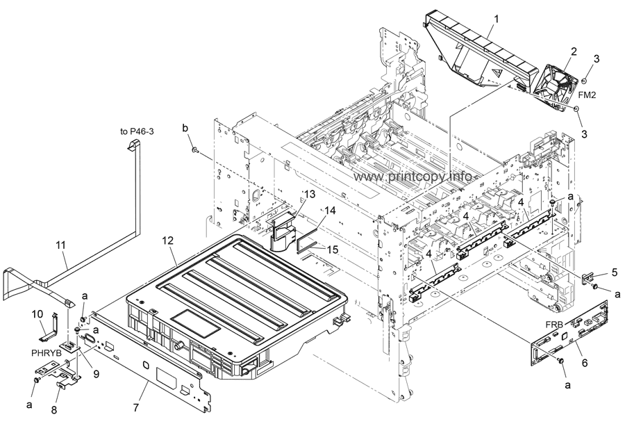Parts Catalog > Konica-Minolta > bizhub C258 > page 9