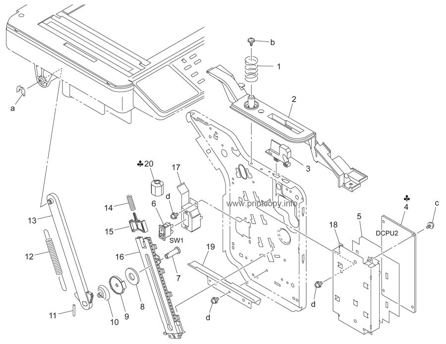 Parts Catalog Konica Minolta Bizhub C10 Page 11