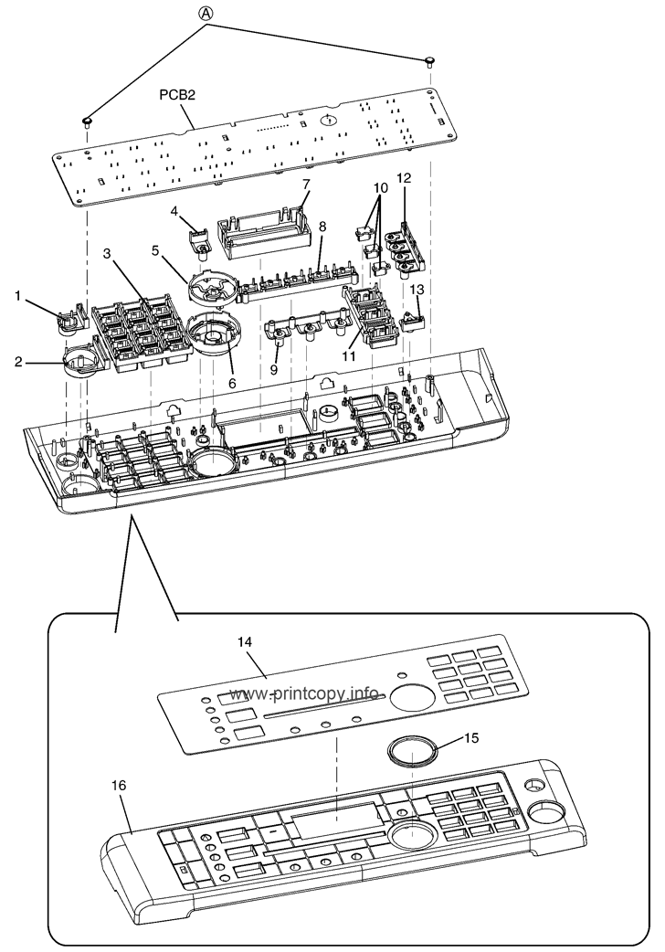 Operation Panel Section