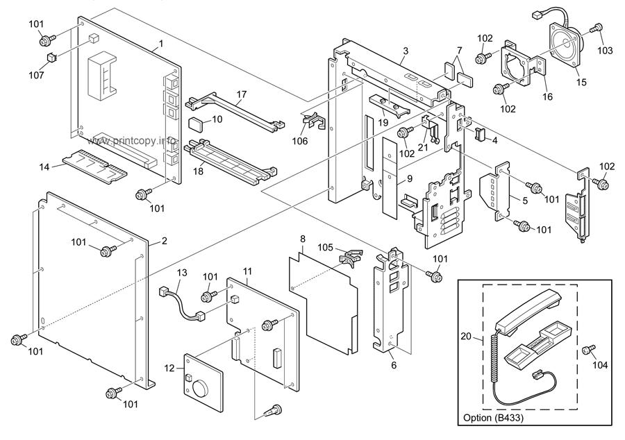 Parts Catalog Ricoh D115 Mp201f S C4 5 Page 21