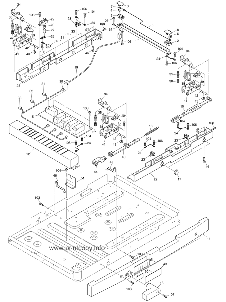 Parts Catalog Toshiba Fc310 Page 32