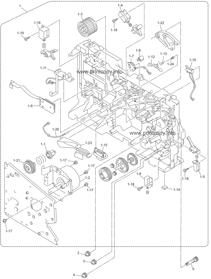 Parts Catalog Brother Mfc8890dw Page 1