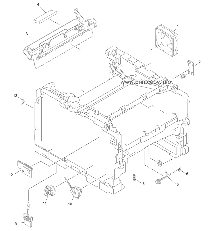 Parts Catalog Brother Dcp8250dn Page 2
