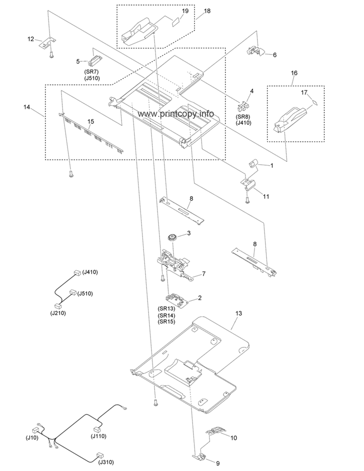 Parts Catalog > Canon > iR Advance C3330i > page 62
