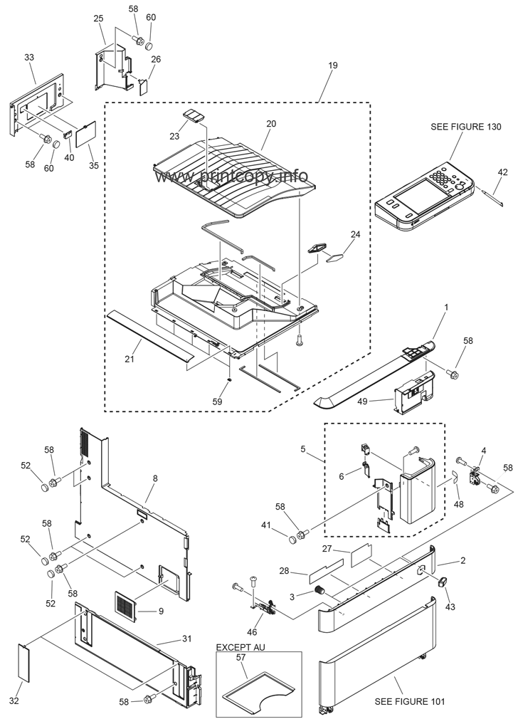 Parts Catalog  U0026gt  Canon  U0026gt  Ir Advance C5051  U0026gt  Page 1