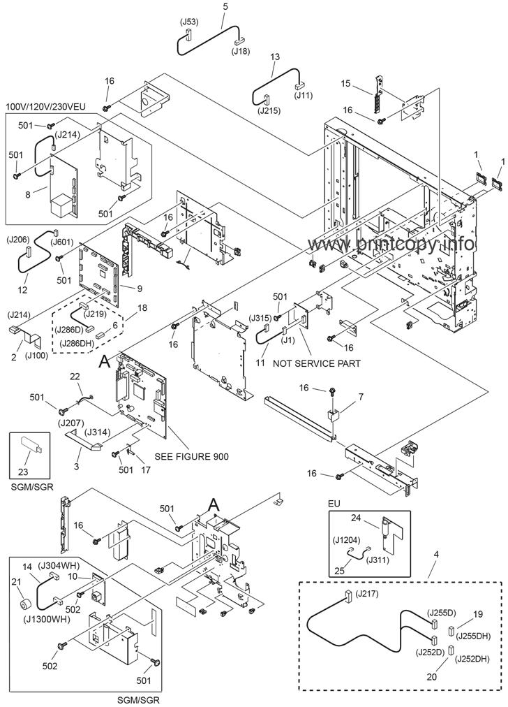 Canon Adf J1 Parts Catalog