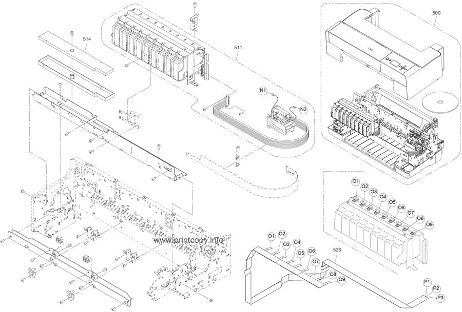 Parts Catalog > Epson > Stylus Pro 3880 > page 6