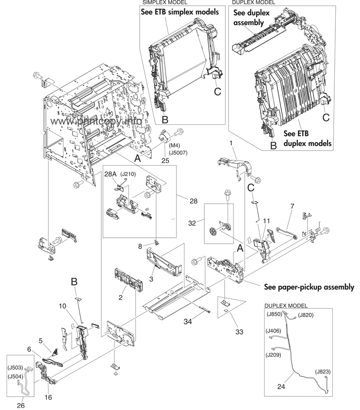 parts catalog u003e hp u003e color laserjet 3600 u003e page 7 rh printcopy info
