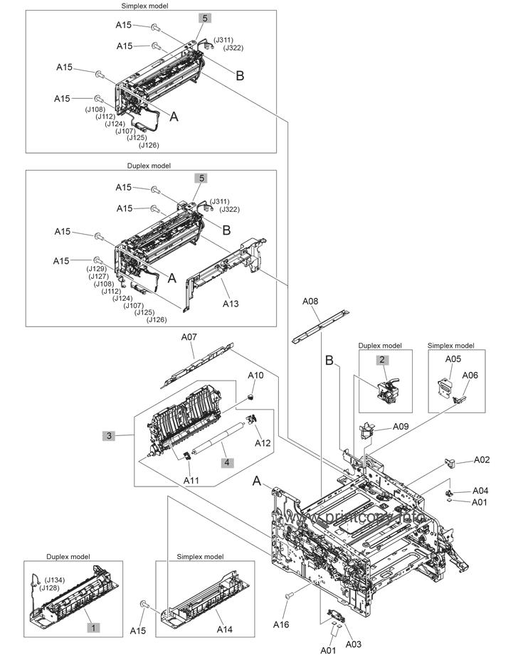 parts catalog  u0026gt  hp  u0026gt  laserjet m452dn pro color  u0026gt  page 8