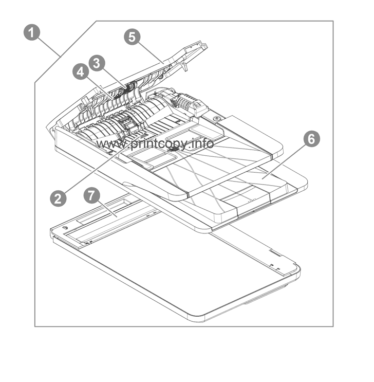 Parts Catalog > HP > LaserJet Pro MFP M130fn > page 1