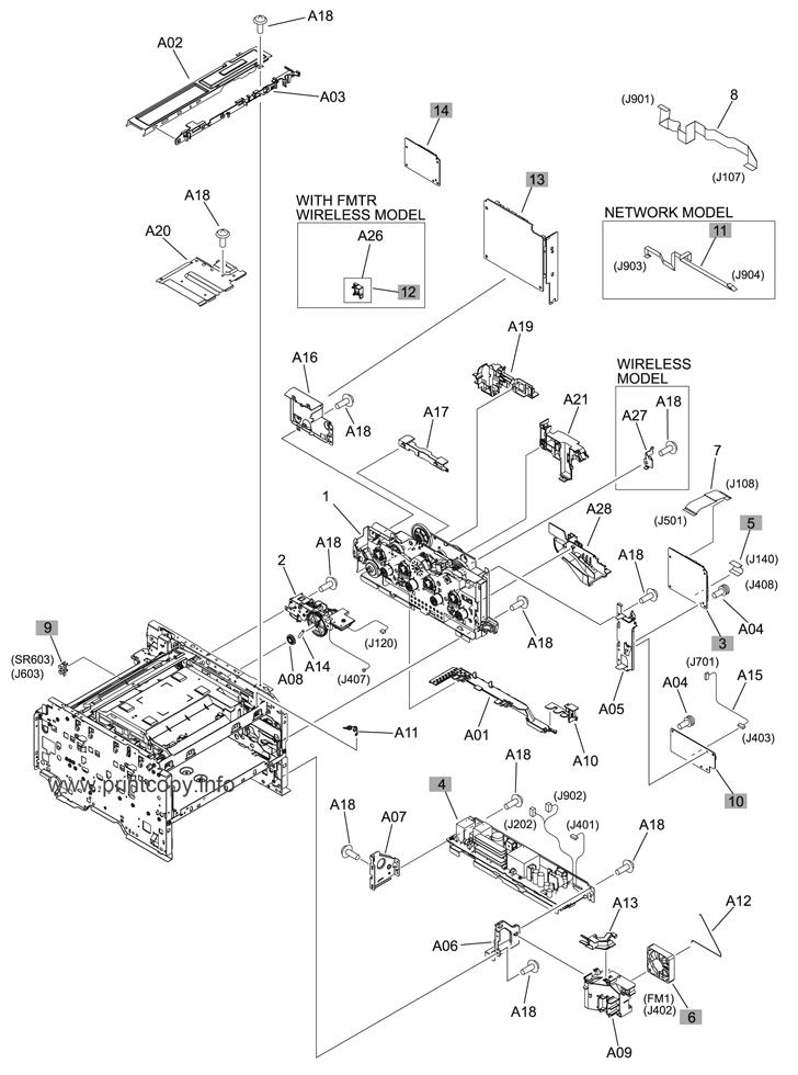 parts catalog  u0026gt  hp  u0026gt  laserjet m251nw pro 200 color  u0026gt  page 4
