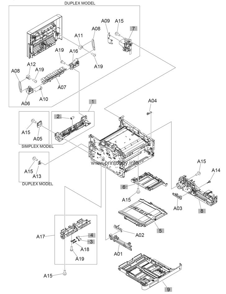 Parts Catalog Hp Color Laserjet Pro Mfp M277 Page 4