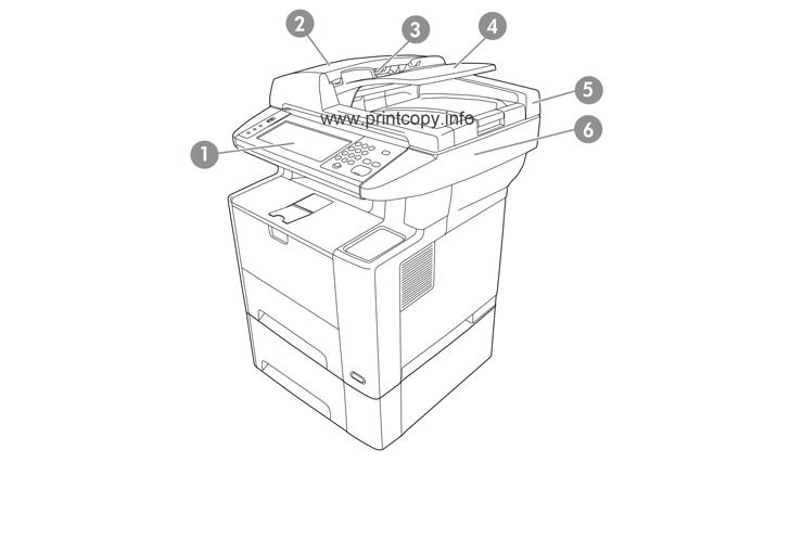 Hp M3035 Manual