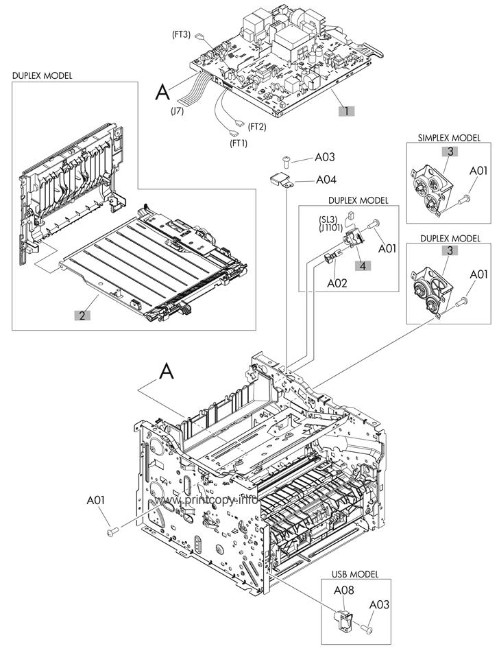 parts catalog  u0026gt  hp  u0026gt  laserjet m401dn pro 400  u0026gt  page 7