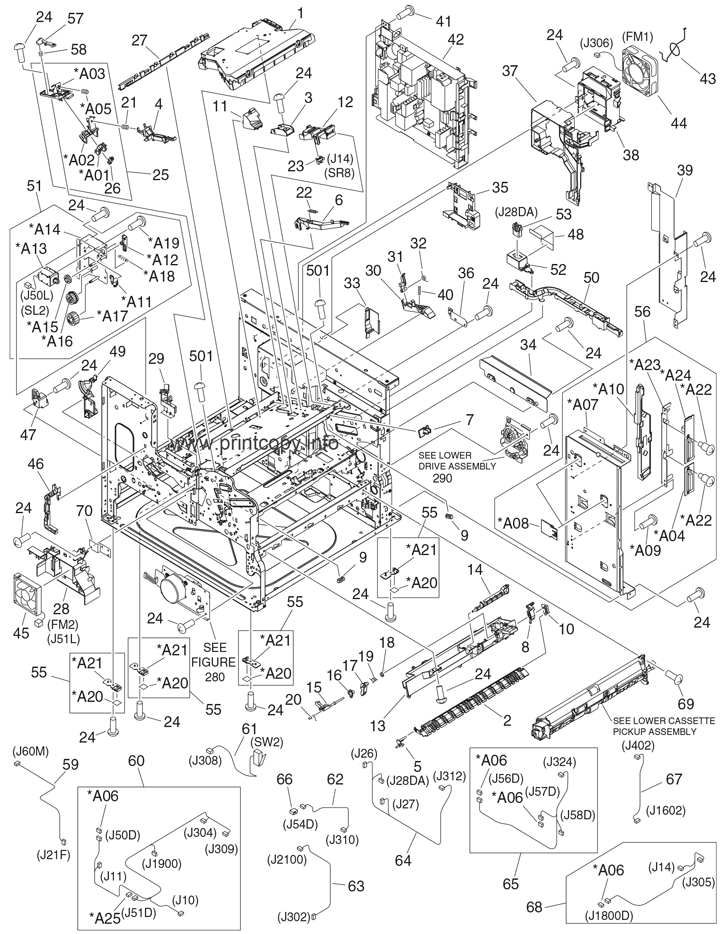 Parts Catalog Hp Laserjet M5025 Mfp Page 24