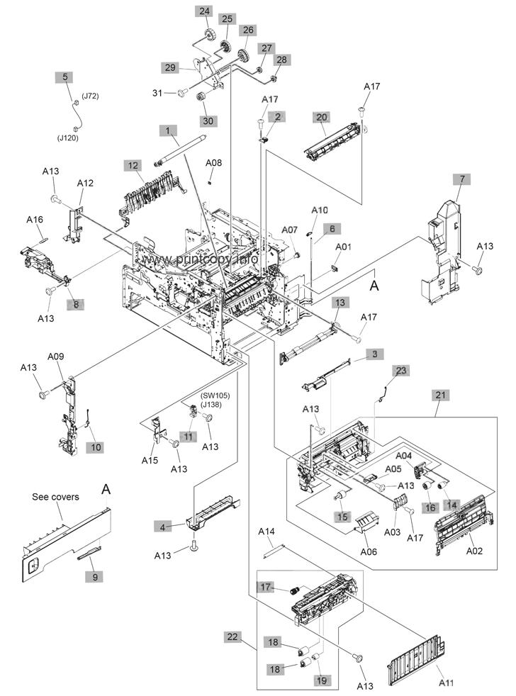 Parts Catalog Gt Hp Gt Laserjet Enterprise Mfp M630 Gt Page 8