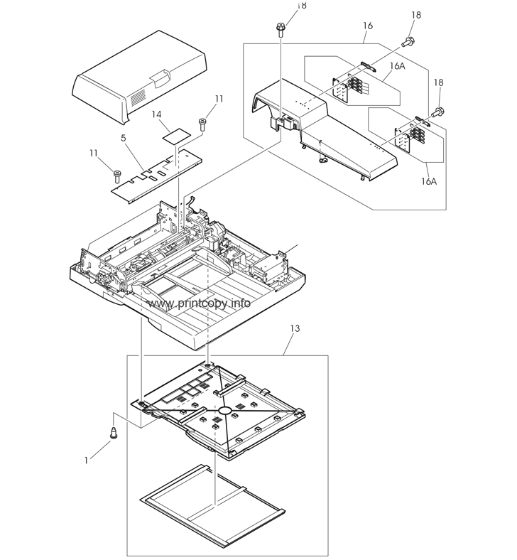 Parts Catalog Hp Laserjet M9040 Mfp Page 2