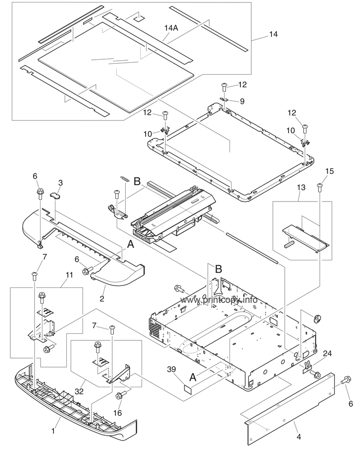 Parts Catalog Hp Laserjet M9040 Mfp Page 5