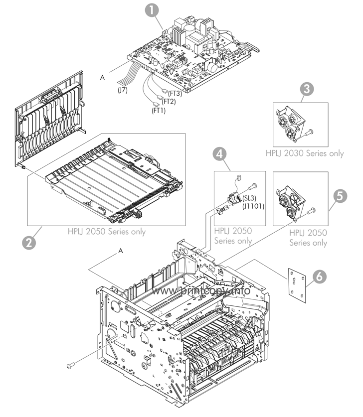 parts catalog u003e hp u003e laserjet p2055dn u003e page 7 rh printcopy info