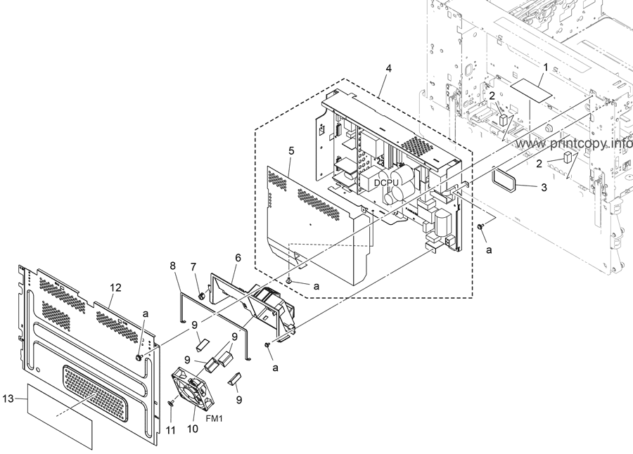 Parts Catalog Konica Minolta Bizhub 558e Page 62