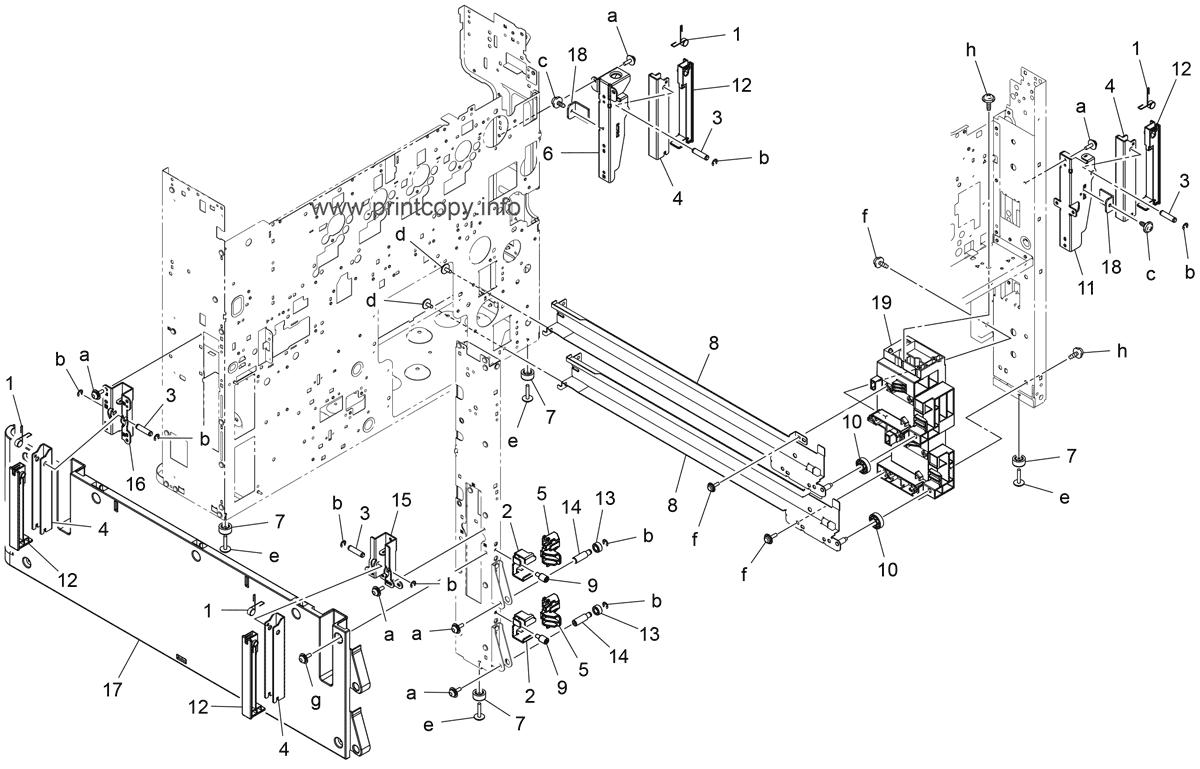 Parts Catalog > Konica-Minolta > bizhub C258 > page 21
