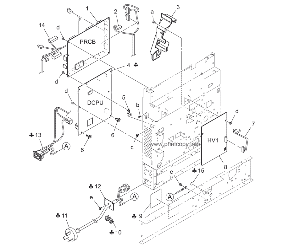 Parts Catalog Konica Minolta Bizhub 7818 Page 14