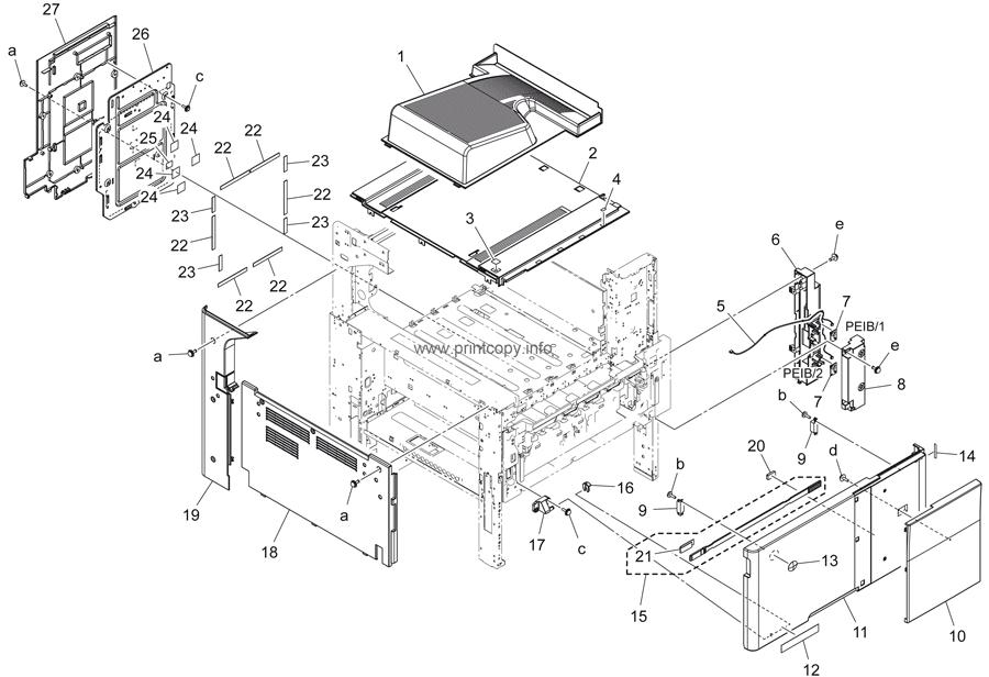 Parts Catalog Gt Konica Minolta Gt Bizhub 284e Gt Page 1