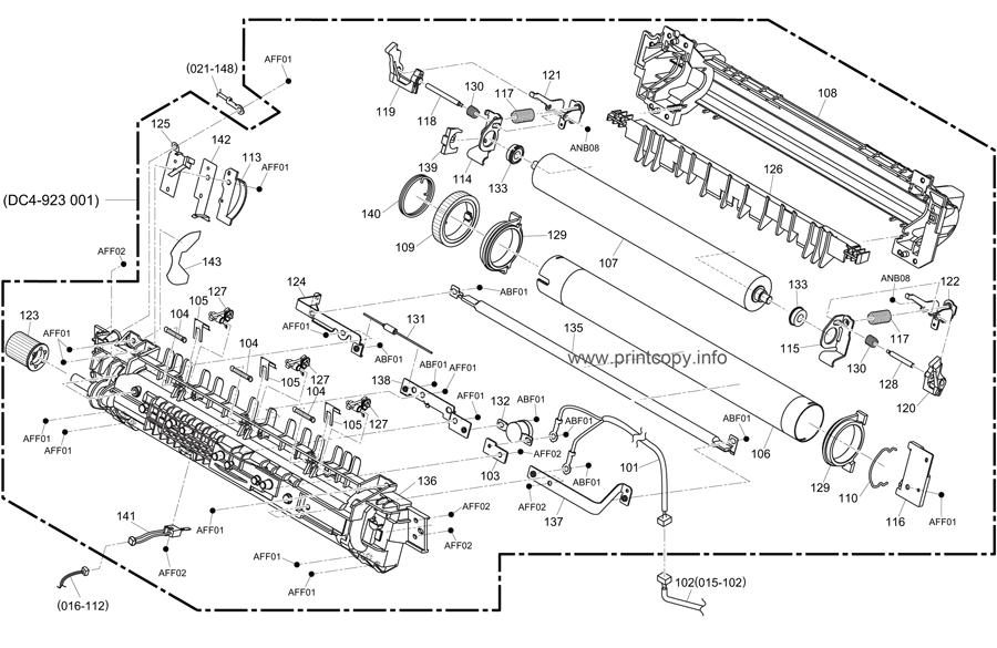 Parts Catalog > Konica-Minolta > bizhub 240f > page 17