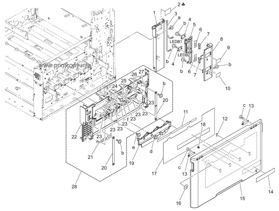 Parts Catalog Konica Minolta Bizhub C220 Page 1