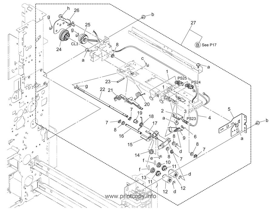 Parts Catalog Konica Minolta Bizhub C220 Page 16