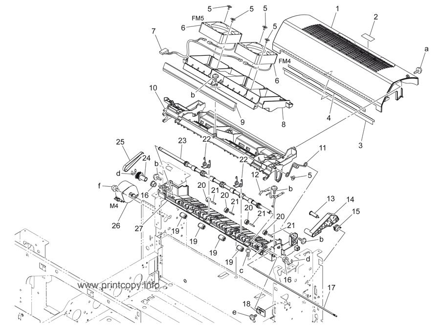 Parts Catalog Konica Minolta Bizhub C220 Page 35