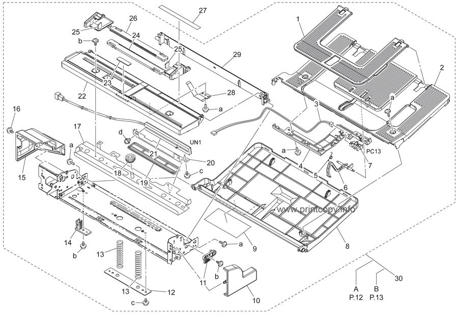 parts catalog u003e konica minolta u003e bizhub c250 u003e page 11 rh printcopy info bizhub 250 parts guide A Toner for Bizhub C250