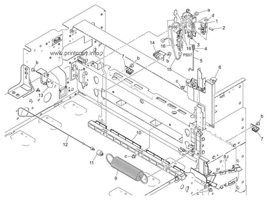 Parts Catalog > Konica-Minolta > bizhub C451 > page 50