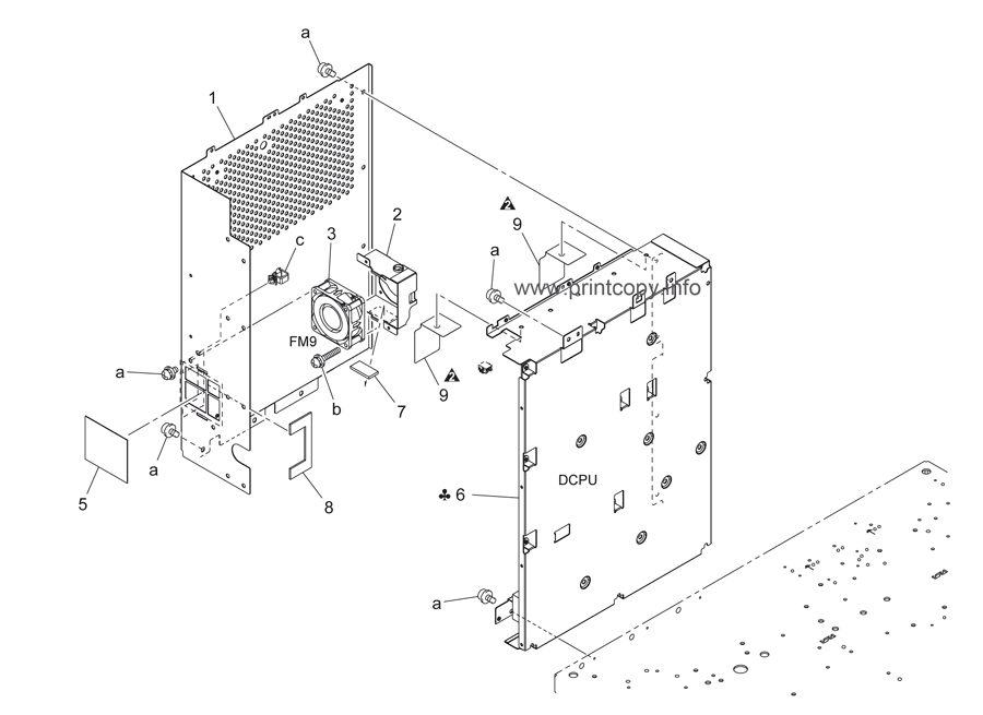 Parts Catalog > Konica-Minolta > bizhub C451 > page 67