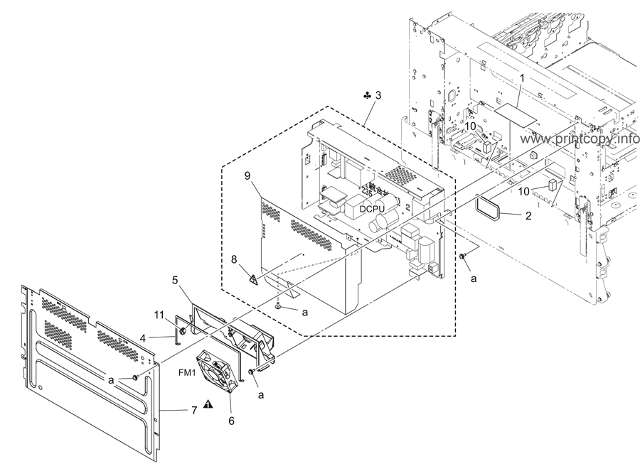 Power Supply Drawing