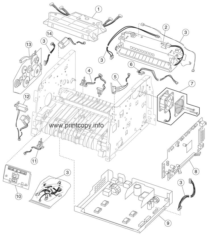 Lexmark Parts Diagrams