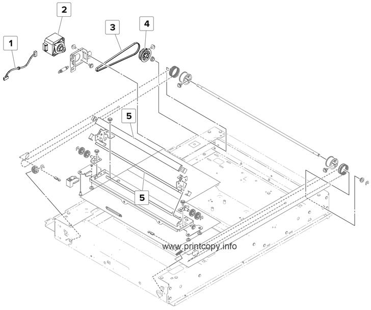 Parts Catalog Lexmark Xm9145 Page 61