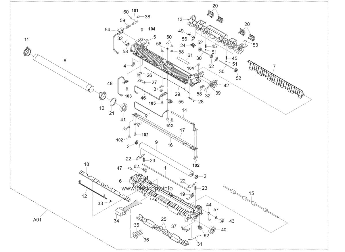 Parts Catalog > Kyocera > FS6950DN > page 9