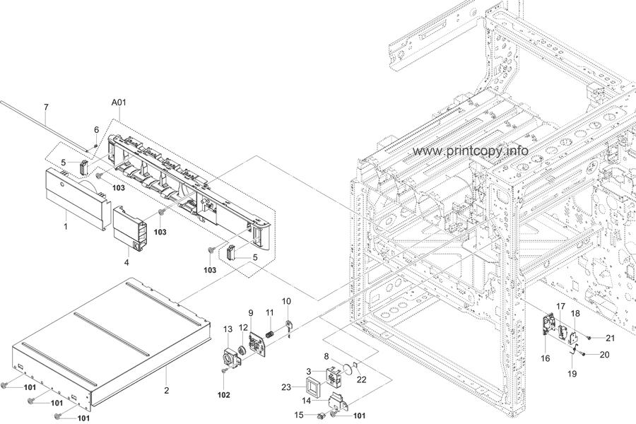 Parts Catalog > Kyocera > TASKalfa 5052ci > page 6