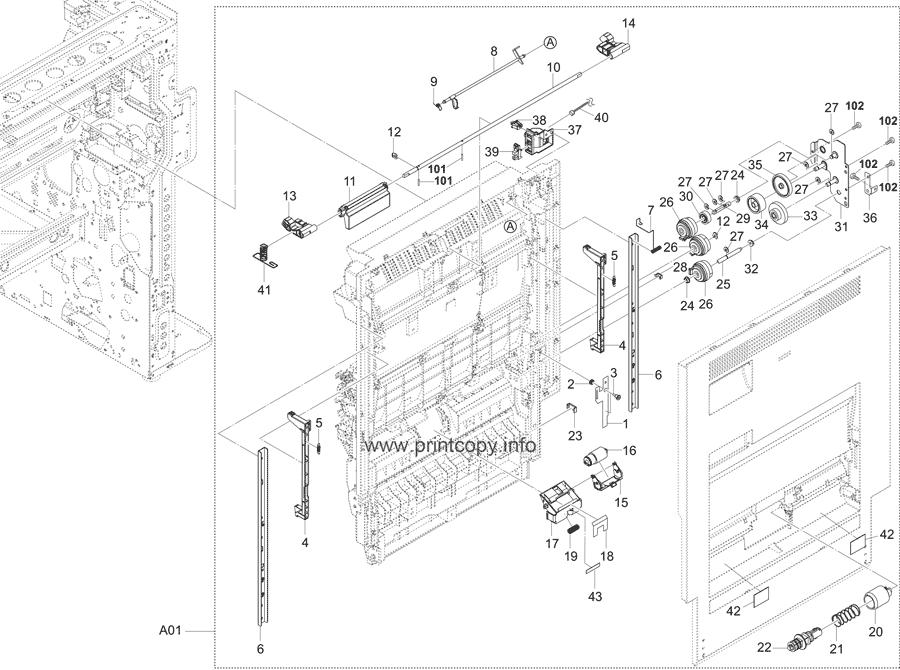 Parts Catalog > Kyocera > TASKalfa 3252ci > page 17