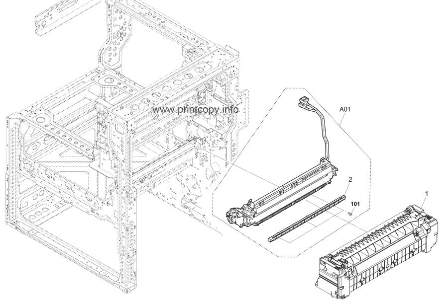 Parts Catalog > Kyocera > TASKalfa 5052ci > page 30