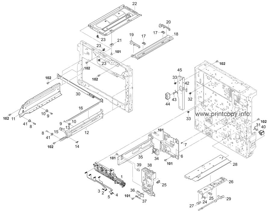 Parts Catalog > Kyocera > TASKalfa 3011i > page 4